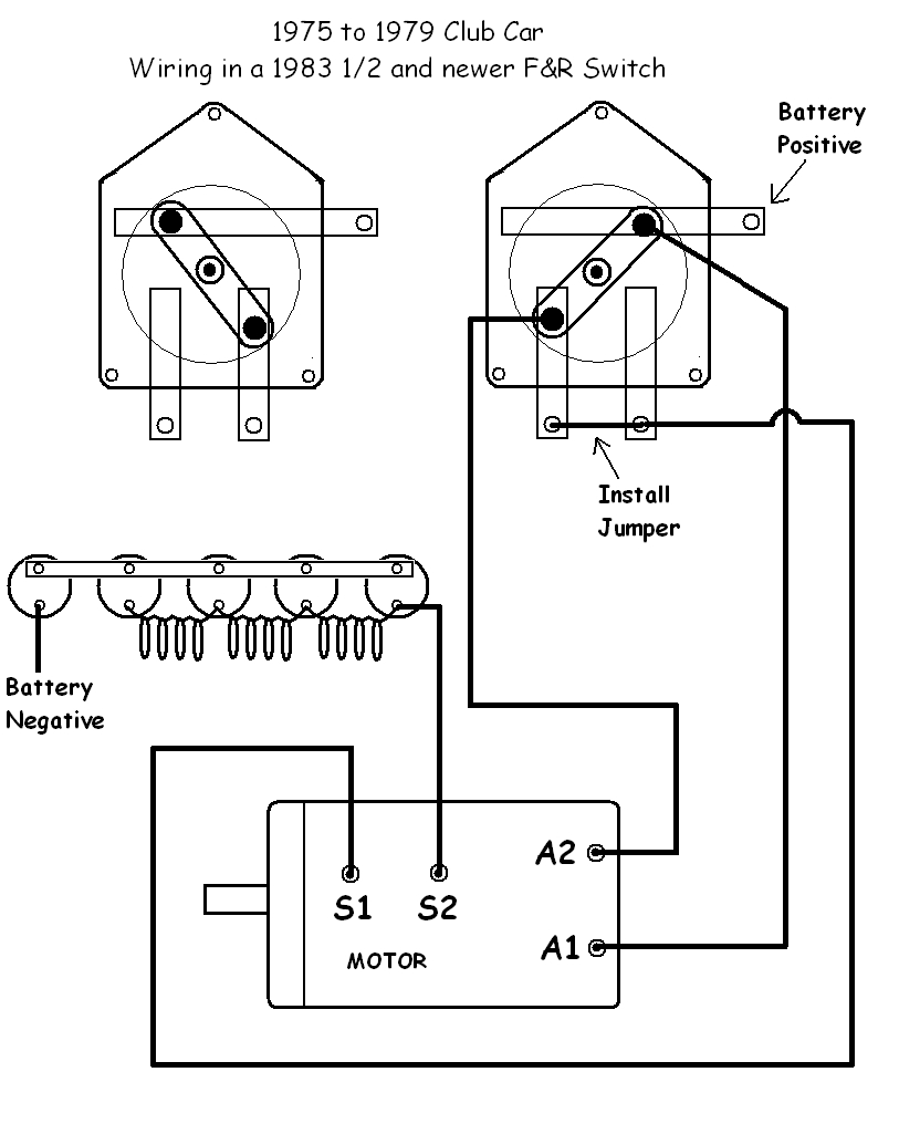 wiring diagram 36 volt golf cart batteries with Gallery on Club Car Wiring Diagram Ignition Swich as well 4hgmy Cart The Reverse Button Does Not Cause Audible Buzz moreover 454 likewise 890uq Club Car Ds 1986 Club Car Sudden in addition 852y9 Electric Vehicles Ez Go 2005 Ez Go Fleet Golf Cart.