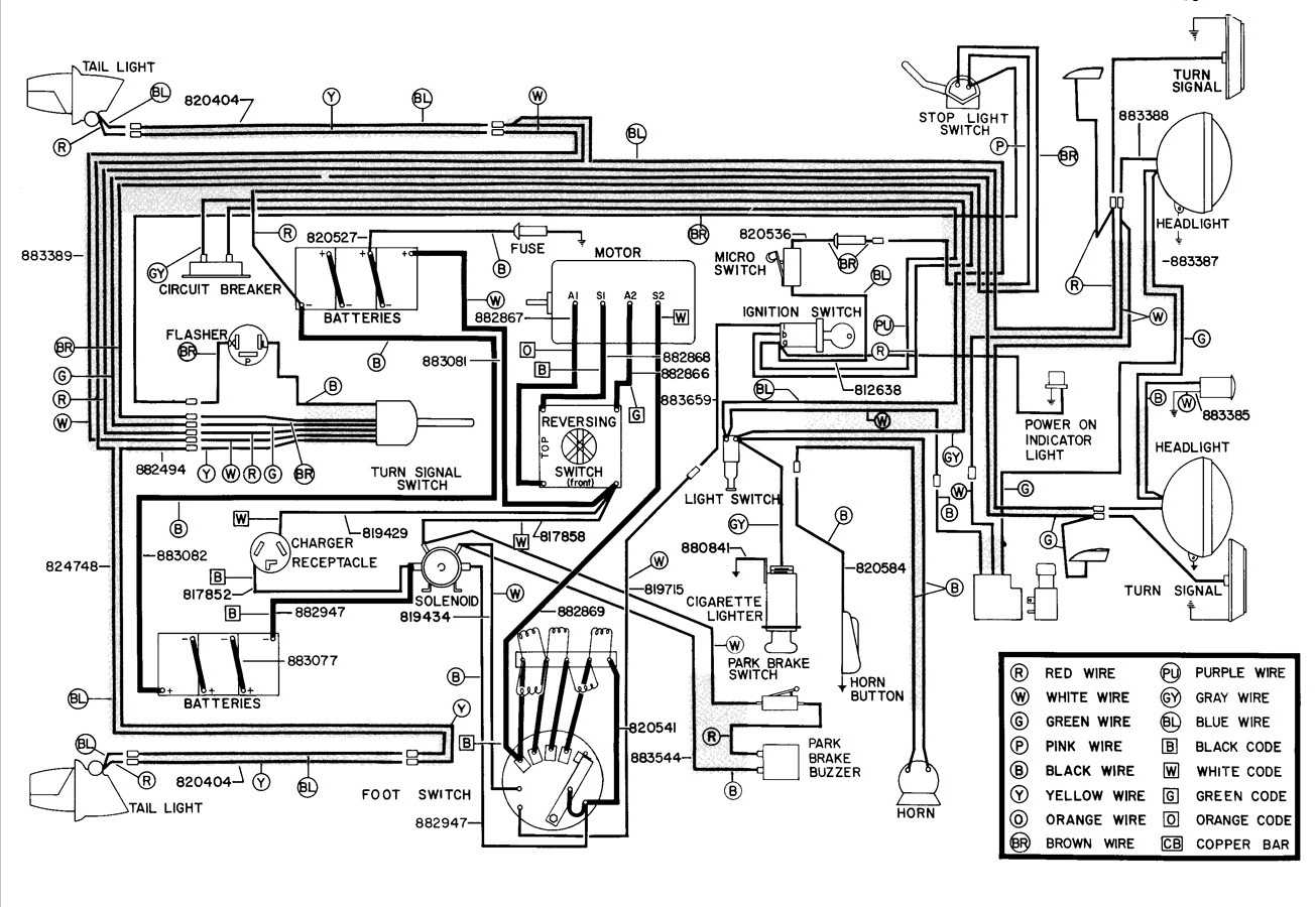 Wiring Diagram For 36 Volt Golf Cart | Wiring Liry on bad boy parts diagram, bad boy accessories, bad boy horn diagram, lawn boy wiring diagram, bad boy controller diagram,