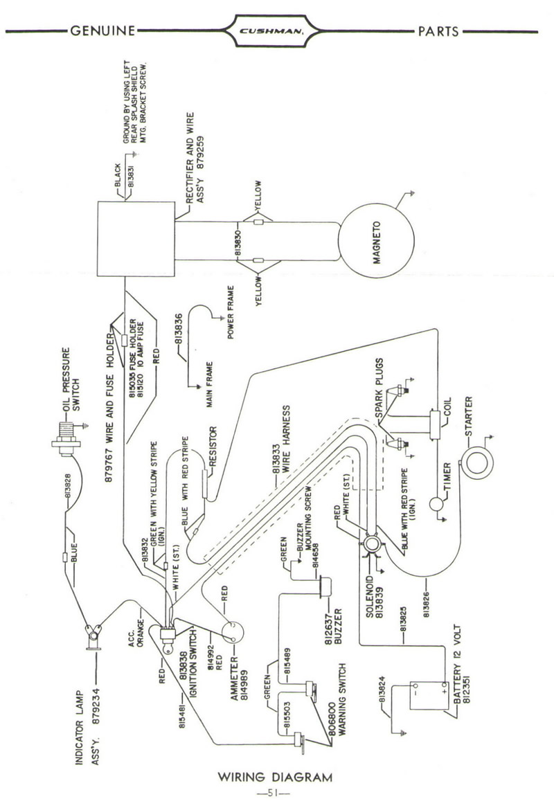 cushman wiring diagram   22 wiring diagram images