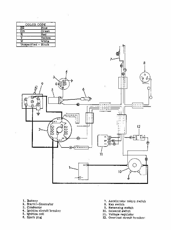 Harley-Davidson Golf Cart Wiring Diagram