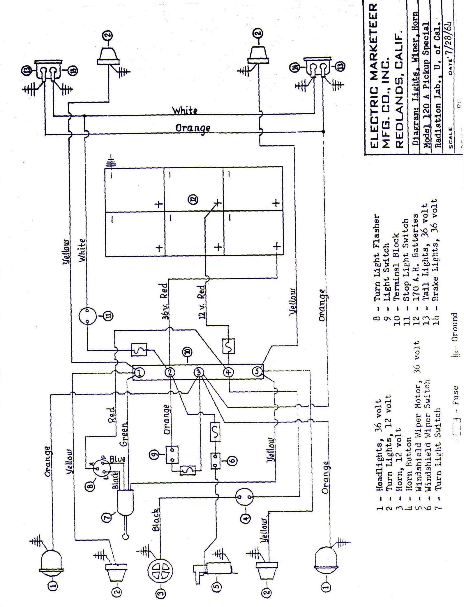 westinghouse golf cart wiring diagram   37 wiring diagram