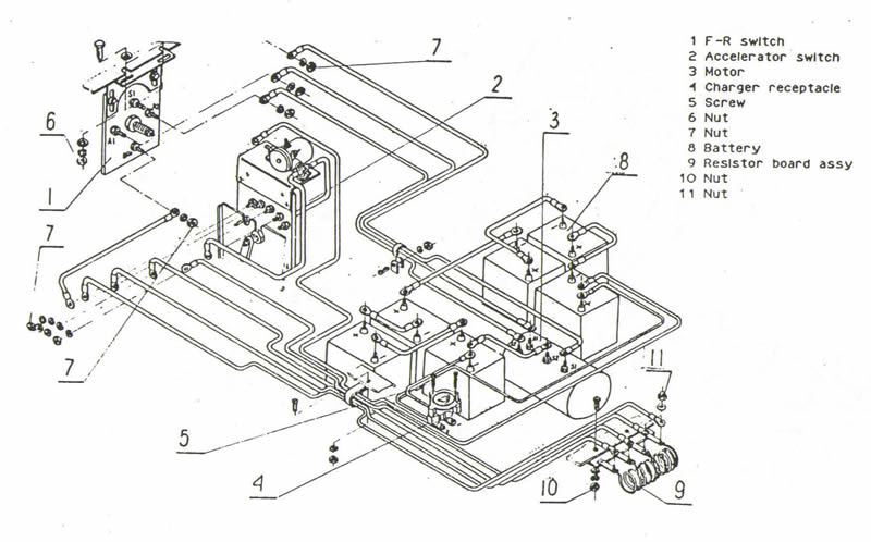 melex 212 wiring diagram the knownledge