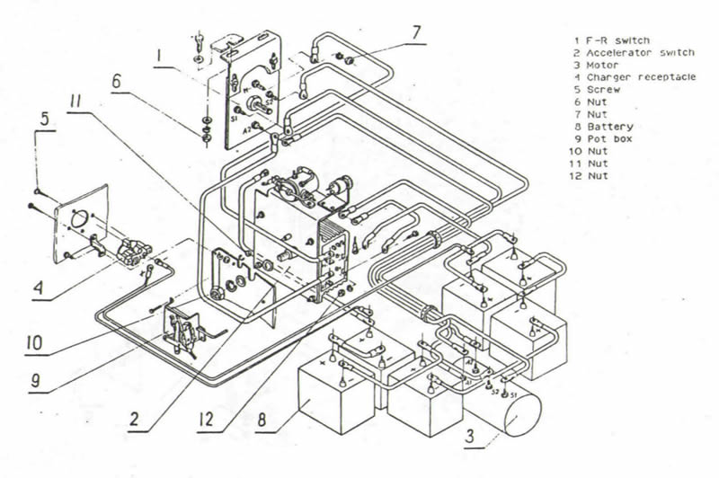 wiring diagram 1989 ezgo golf cart with Hyundai Golf Cart Wiring Diagram on Golf Cart Solenoid Wiring Diagram further Ez Go 20484 Charger Schematic Wiring Diagrams as well 6msfw Ezgo T27893 Need Wiring Diagram 1993 Ezgo Stroke together with 1985 Ez Go Wiring Diagram additionally E Z Go Golf Wiring Diagram.