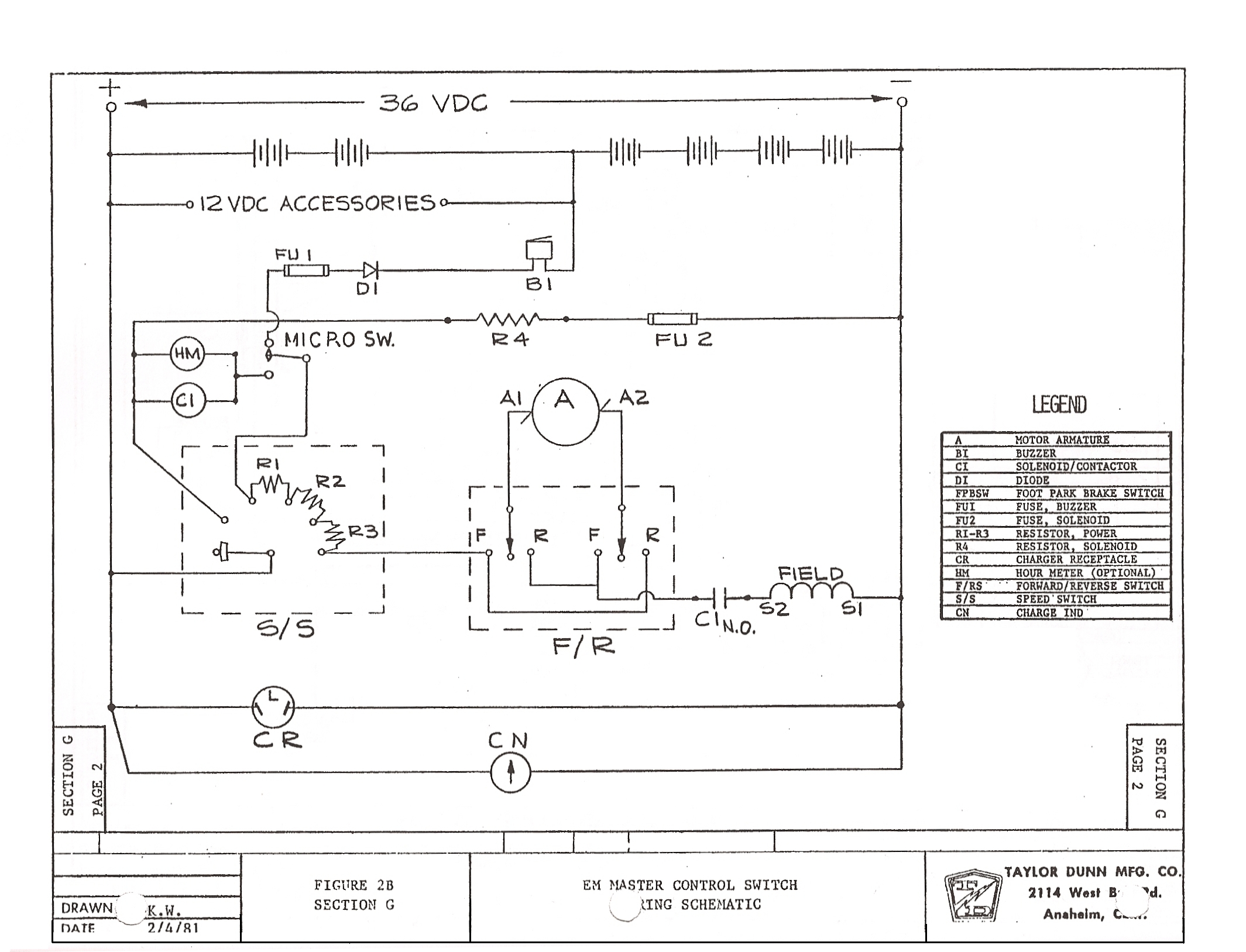 pargo golf cart wiring diagram vintage pargo wiring diagram