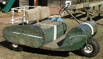 A Golf Car Deriving Its Design From The Walker Cart Sold To JATO Around 1963 These Were Powered By Either Kohler Gas