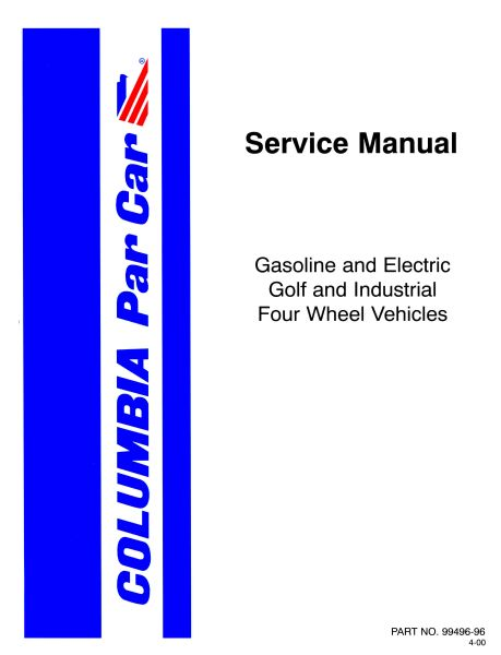 columbia par car service manual books and docs world library rh ocnmx com 1987 columbia par car service manual columbia par car service manual