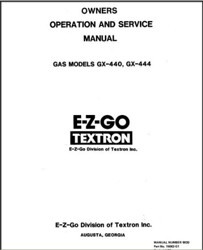 pu22-510 - service manual  gas   u0026 39 76- u0026 39 79