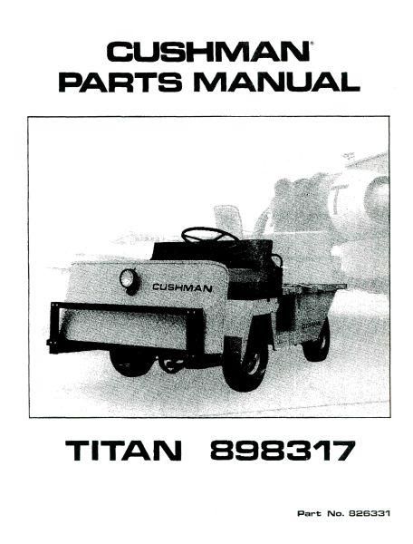 Pu33-170 - Parts Manual   U0026 39 79- U0026 39 83 Titan 48 Volt