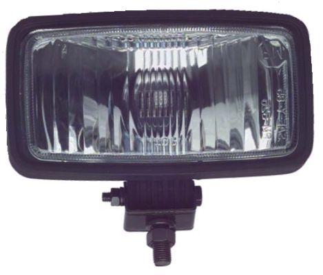 AC11-410 - Black Rectangular Headlight