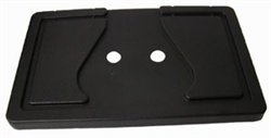 BD22-110 - Seat Back Cap, Black