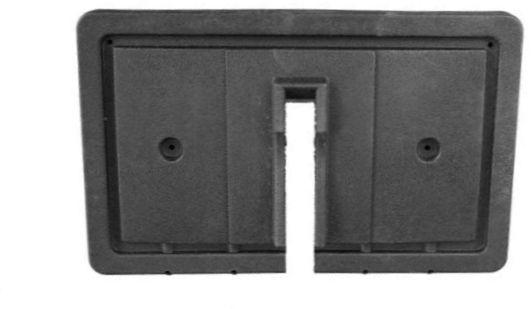 BD22-130 - Seat Back Cap, Black