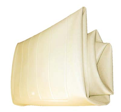 BD44-050 - Seat Bottom Cover, Buff