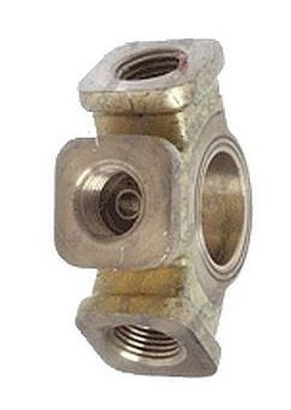 BK44-640 - Banjo Fitting, Three Port