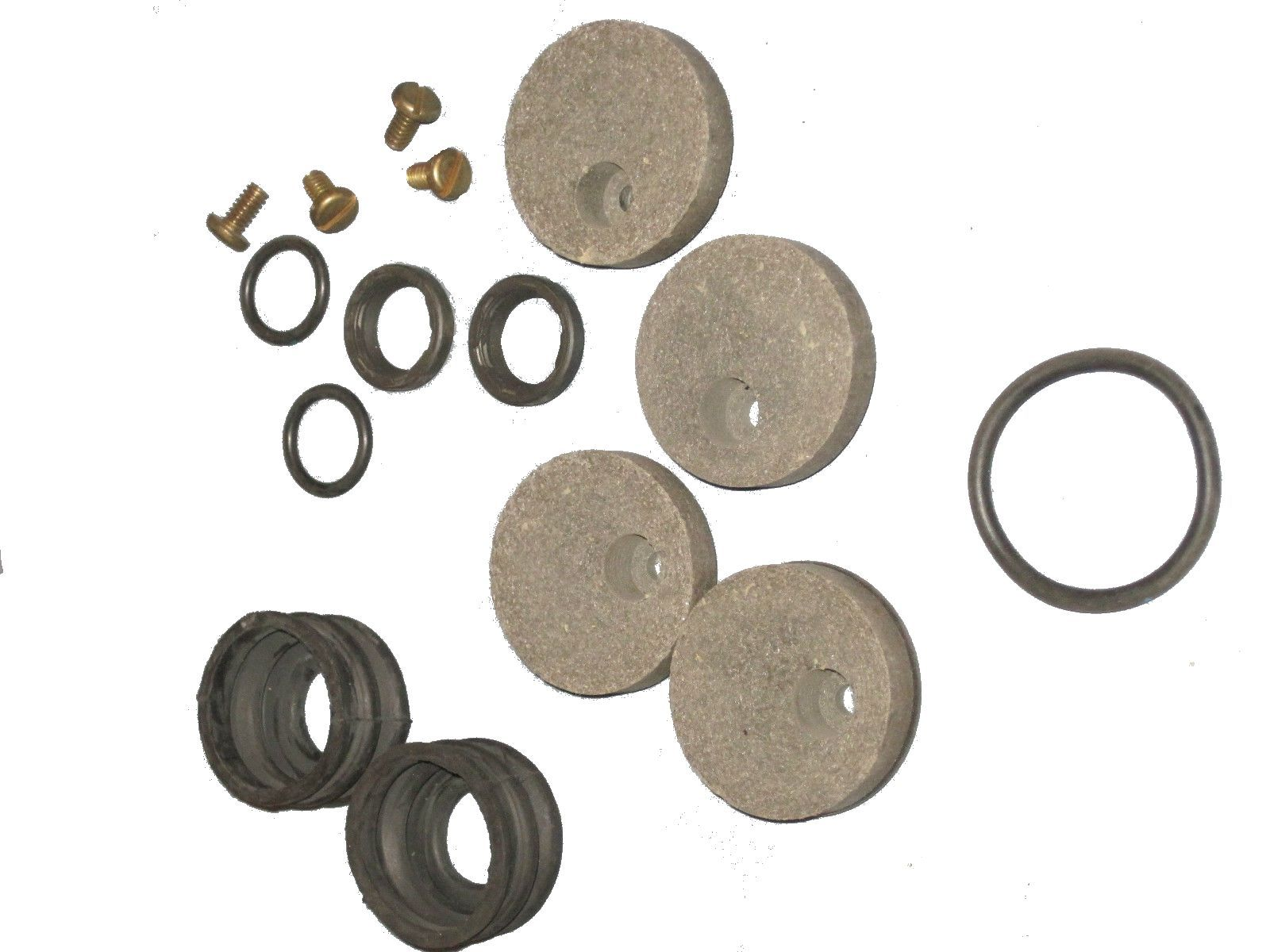 BK55-271 - Rear Brake Caliper Repair Kit, Round Pads
