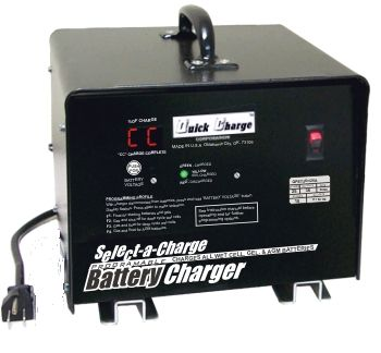 BT11-003 - Battery Charger, 36 Volt, 25 Amp, Crowsfoot