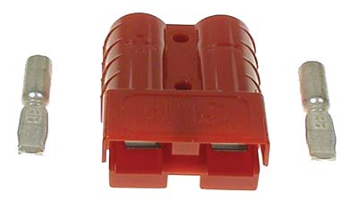 BT22-084 - Charger Plug Receptacle, Red