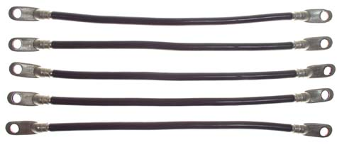 EL99-350 - Hevy Duty 4 Ga Battery Cable Set