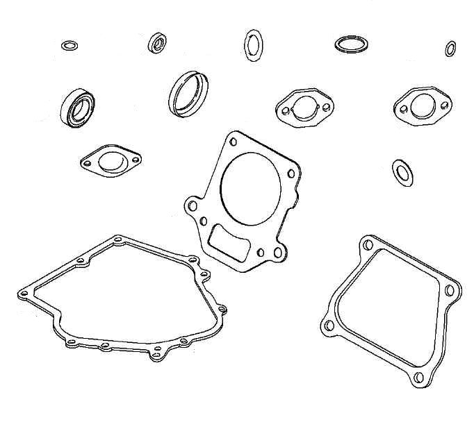 EN66-250 - Engine Overhaul Gasket Set