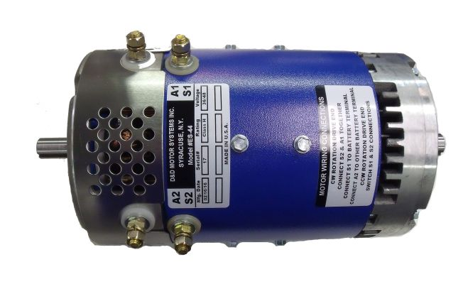 MT11-250 - 3 HP High Performance Dual Shaft Motor
