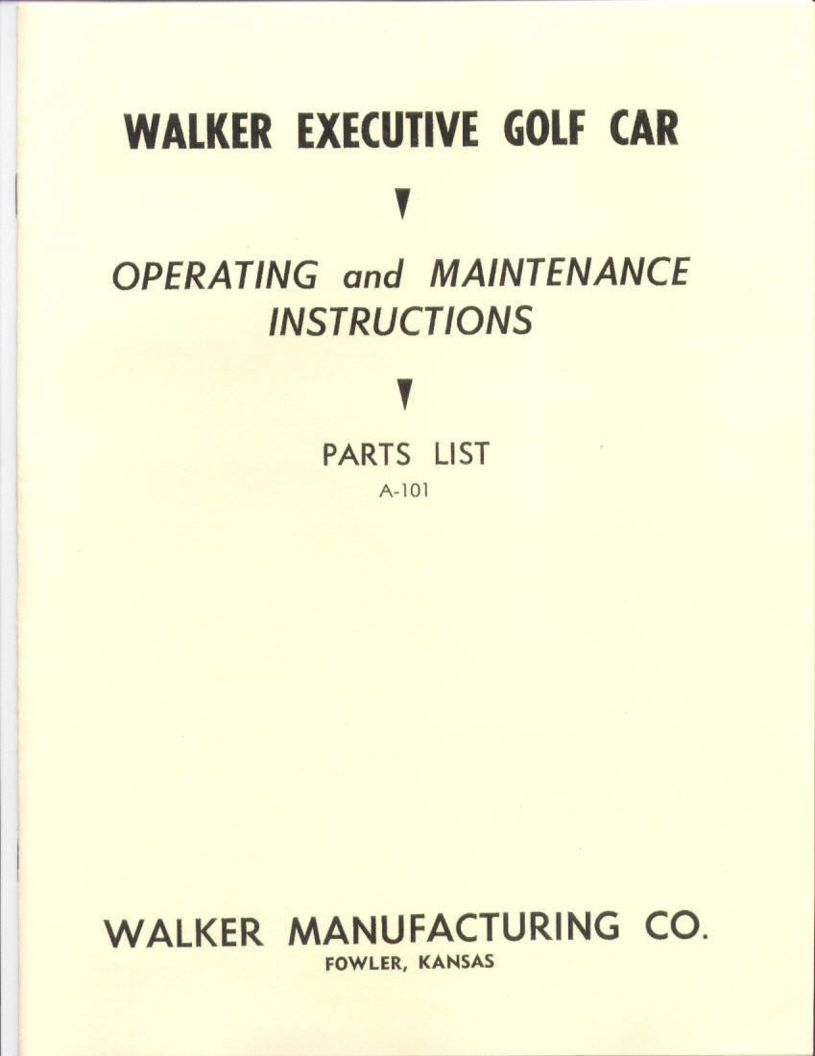 PU10-500 - Walker Packet