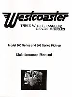 PU90-650 - Westcoaster Maintenance Manual