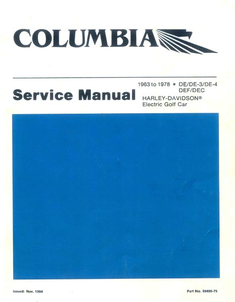 PU11-000 - Electric Service Manual, '63-'78