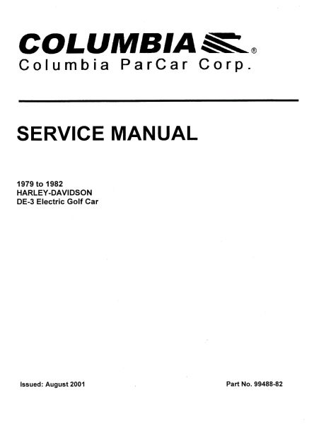 PU11-040 - Electric Service Manual, '79-'82