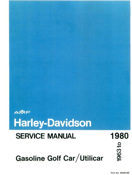 PU11-050 - Gas Service Manual, '63-'80