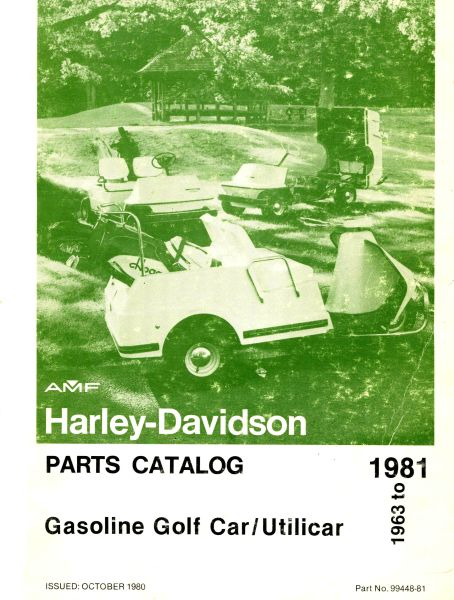 PU11-120 - Gas Parts Manual, '63-'81