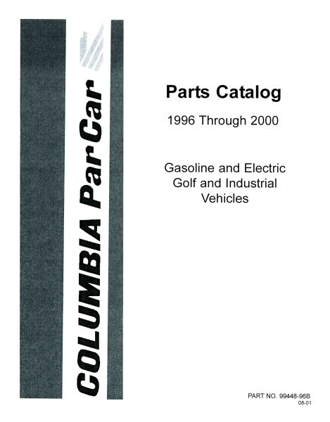PU11-260 - Gas & Elec Parts Manual, '96-'00