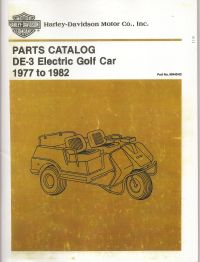 PU11-100 - Electric Parts Manual, '77-'82