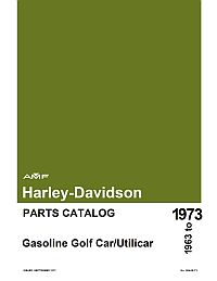 PU11-122 - Gas Parts Manual, '63-'73