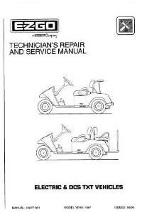 PU22-160 - Service Manual, Electric, '97-'98