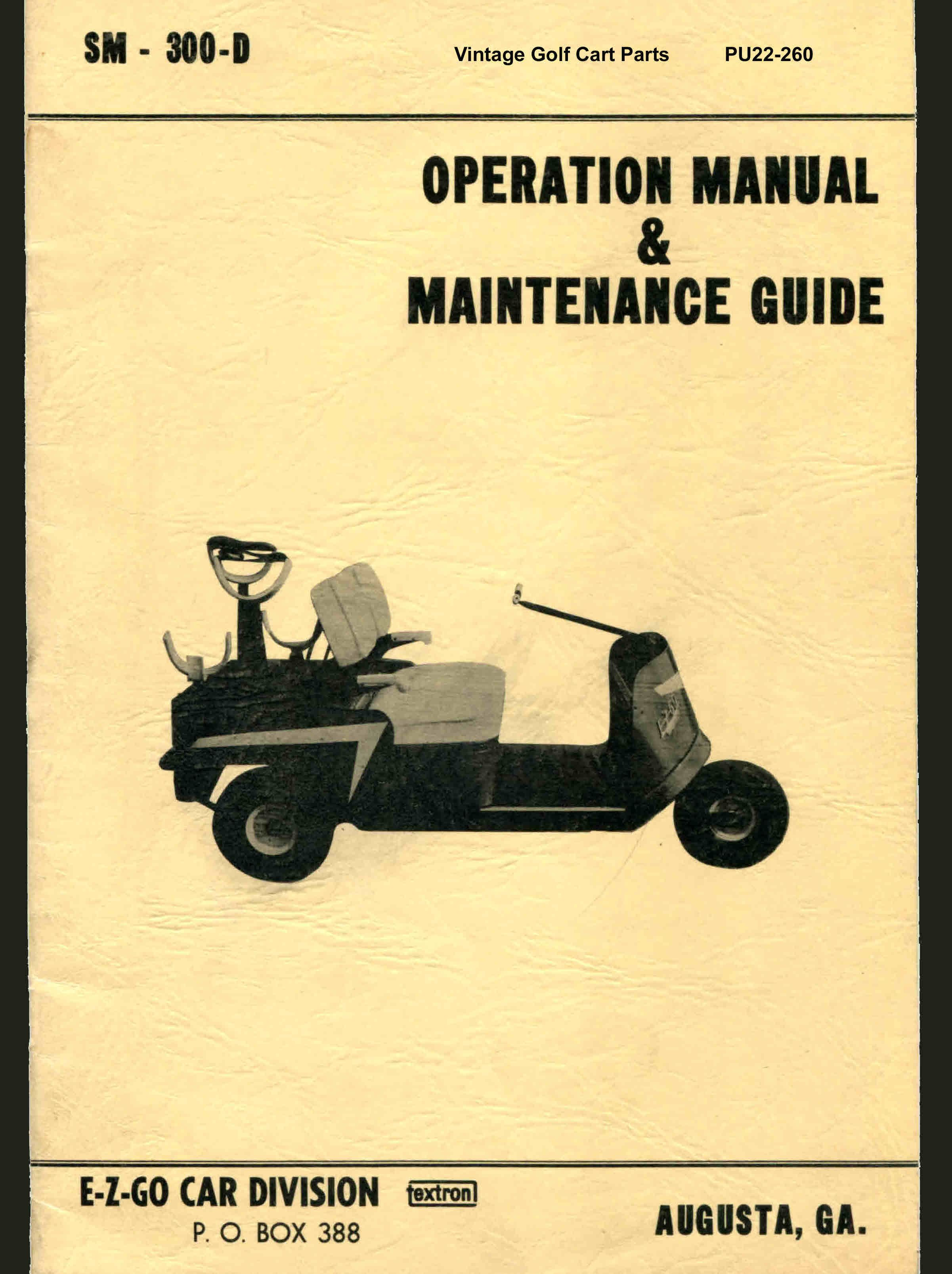 PU22-260 - Operation & Maintenance Manual