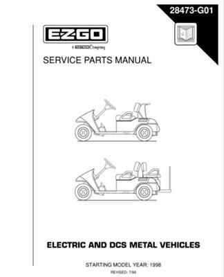 PU22-410 - Parts Manual, Electric, '88-'89 DCS