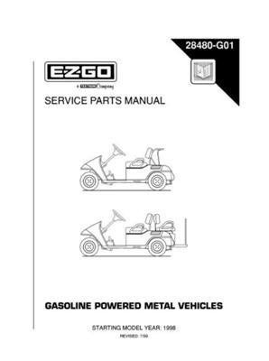 PU22-620 - Service Manual, Gas, '97-'99 Medalist