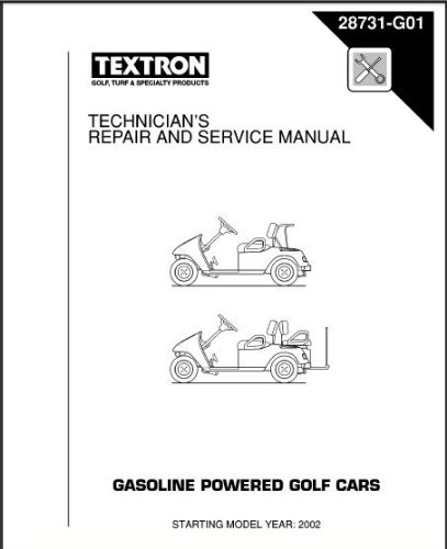 PU22-650 - Service Manual, Gas, 2002