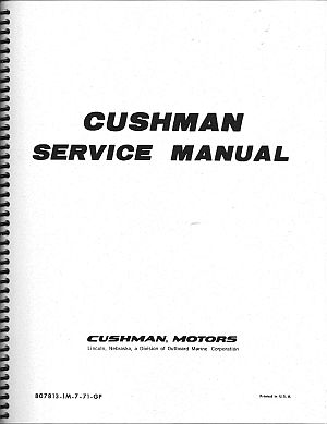 PU33-032 - Service Manual, '64 & up, Many Models