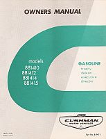 PU33-080 - Service Manual, Gas, '67-'68
