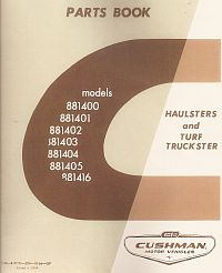PU33-120 - Parts Manual, Gas, '67-'73 Haulster/Truckster