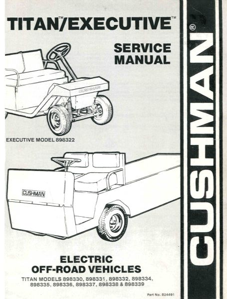 PU33-220 - Service Manual, Electric, '83-'94