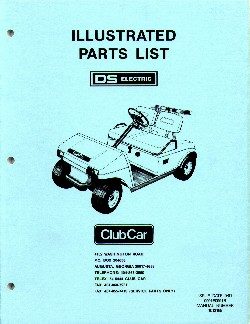 PU44-150 - Parts Manual, Electric, '81-'91