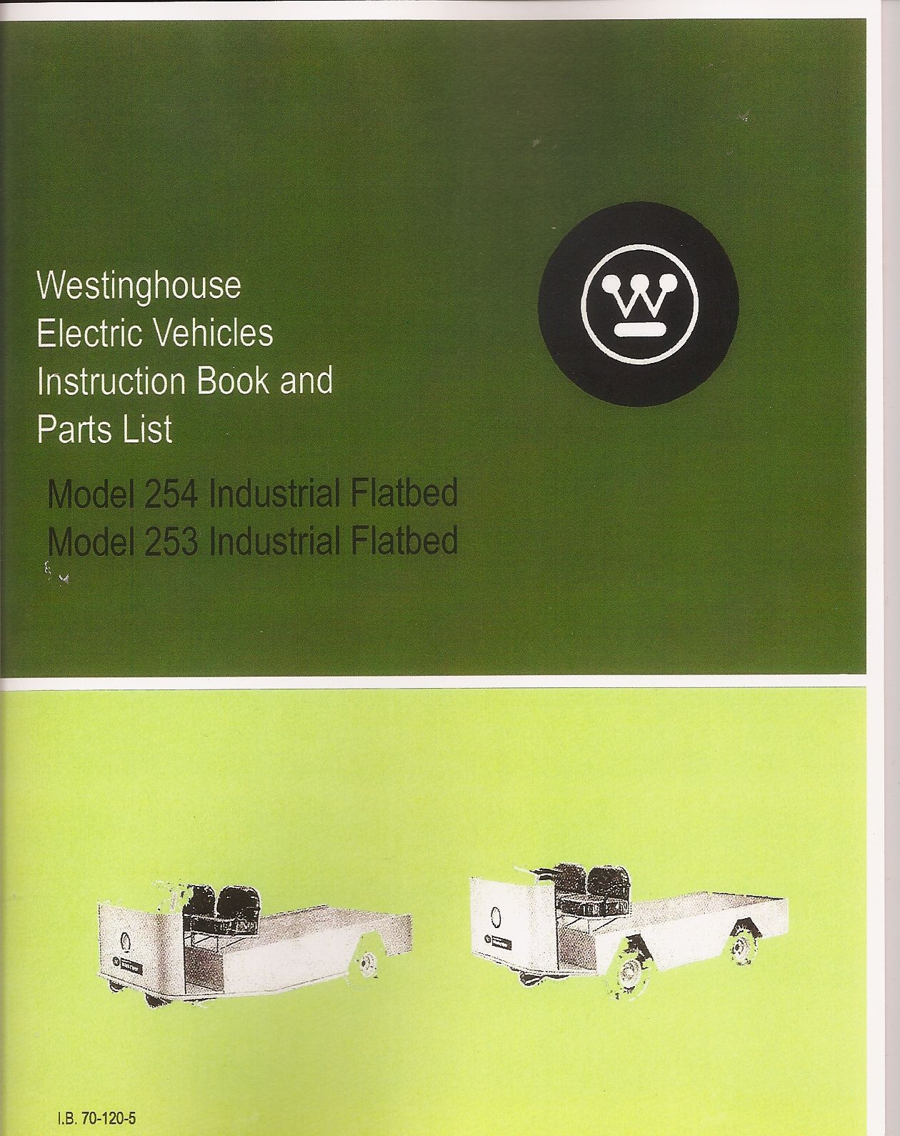 PU55-180 - Parts & Instruction Manual, 253 & 254