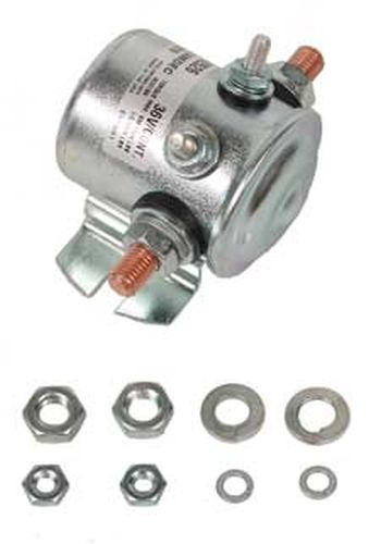 SO22-020 - 36 Volt Solenoid, Silver Contacts