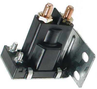 SO22-110 - 14 Volt Solenoid, Silver Contacts