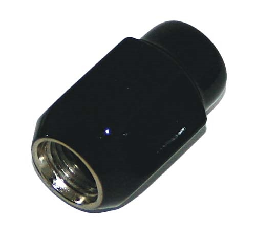 WM11-030 - Black Chrome Metric Lug Nut