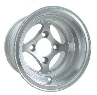 WM11-270 - Viking Polished Aluminum 10'' Wheel