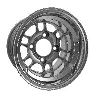 WM11-320 - E'' Polished Aluminum 10'' Wheel